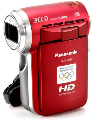 Panasonic HDC-SD8K.