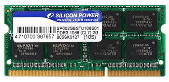 SILICON POWER SO-DIMM DDR3-1066