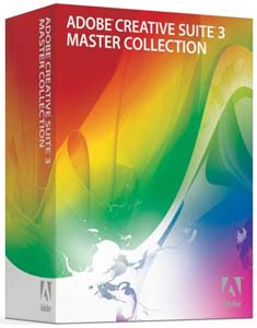 Adobe Creative Suite CS3 Master Collection.
