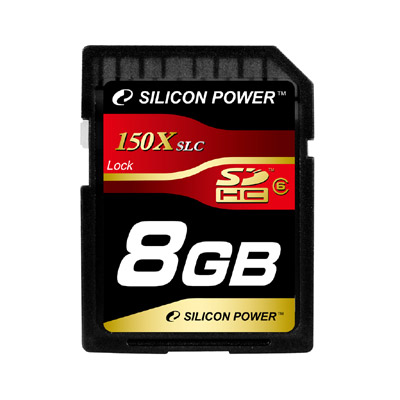 SILICON POWER 150x SDHC Class 6