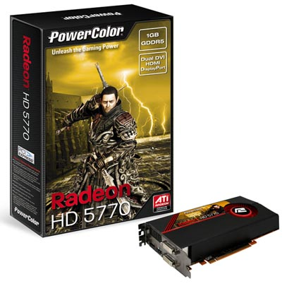 PowerColor HD5770 1GB GDDR5
