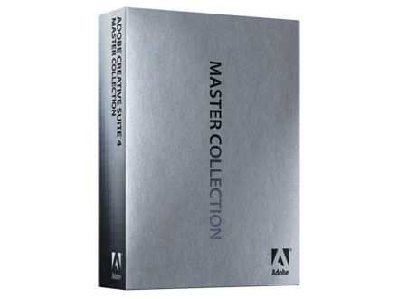 Adobe Creative Suite 4 Master Collection.