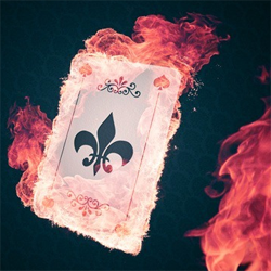 Create an Explosive Flaming Poker Card Photoshop Tutorial